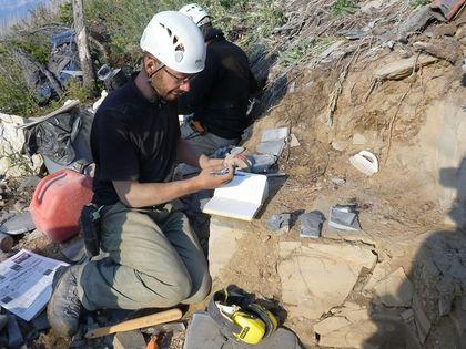 Scientist Jean-Bernard Caron Burgess Shale fossil site Kootenay National Park
