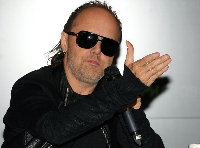 """Lars Ulrich (<A HREF=""""http://www.wenn.com"""" TARGET=""""newwindow"""">WENN.COM</a>)"""