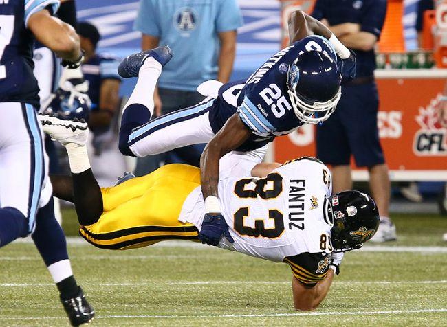 Toronto Argonauts cornerback Pat Watkins