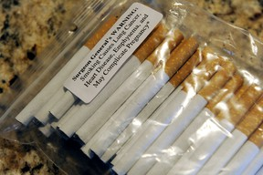 Contraband cigarettes. (Postmedia Network file)