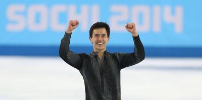 Patrick Chan of Toronto, Ontario, performs during the Sochi 2014 Winter Olympics Men's Figure Skating Short Program in Sochi, Russia, on Thursday Feb. 13, 2014. Al Charest/Calgary Sun/QMI Agency
