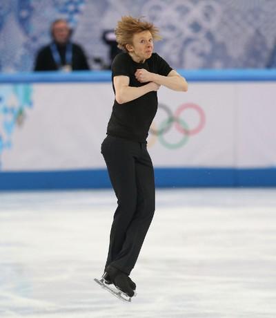 Kevin Reynolds of Coquitlam, B.C., performs during the Sochi 2014 Winter Olympics Men's Figure Skating Short Program in Sochi, Russia, on Thursday Feb. 13, 2014. Al Charest/Calgary Sun/QMI Agency