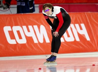 Christine Nesbitt (London, Ont.) Women's speed skating, 1,000 metres Finished ninth. (Al Charest/QMI Agency)