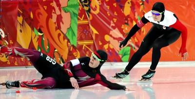 Kaylin Irvine (Calgary) Women's speed skating, 1,000 metres Finished 18th. (Al Charest, QMI Agency)