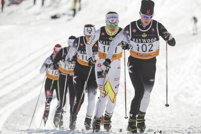 Amanda Ammar (St. Albert, Alta.) Women's cross-country, 10 km classic Finished 55th. (Justin Parsons, QMI Agency)