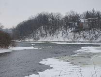 The Grand River in Paris, Ontario. (Post Media Network file photo)