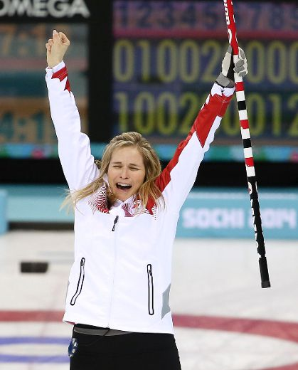 Jones Curling Gold Women's Curling Gold Medal