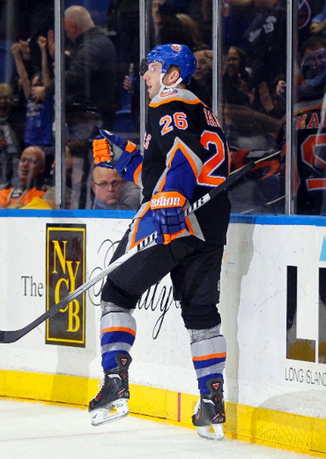 Thomas Vanek of the New York Islanders. (ANDY MARTIN/USA TODAY Sports)
