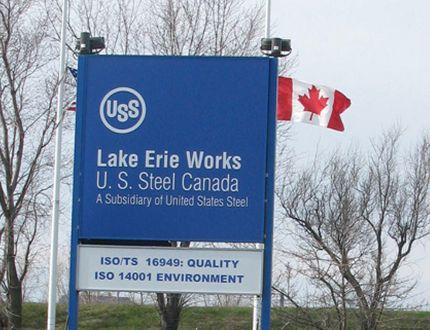 U.S. Steel Nanticoke plant. (Simcoe Reformer file photo)