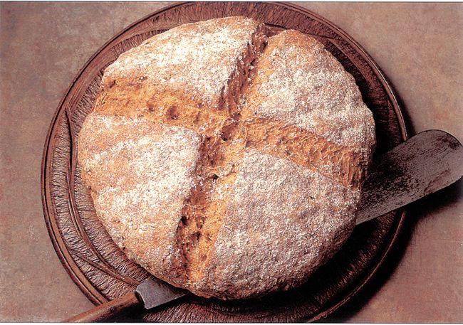Irish soda bread, (Courtesy of World Encyclopedia of Bread)