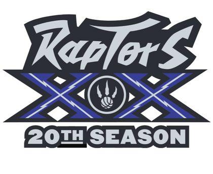Raptors bring back purple in 20th anniversary logo
