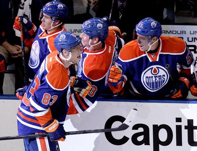 Oilers versus Senators