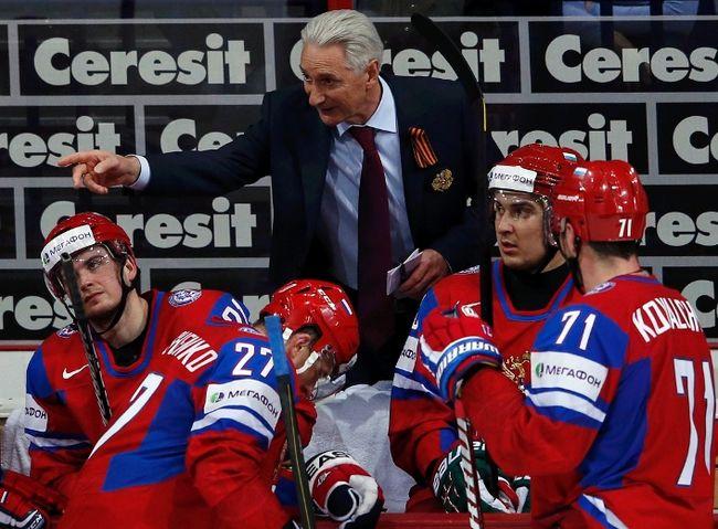 Russia's head coach Zinetula Bilyaletdinov has stepped down. (REUTERS)