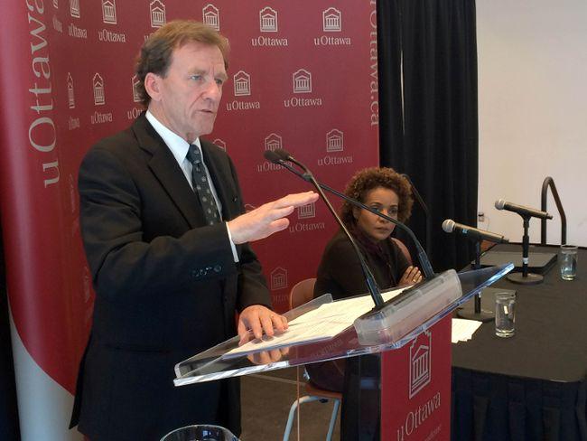 University of Ottawa president Allan Rock. TONY CALDWELL/Postmedia
