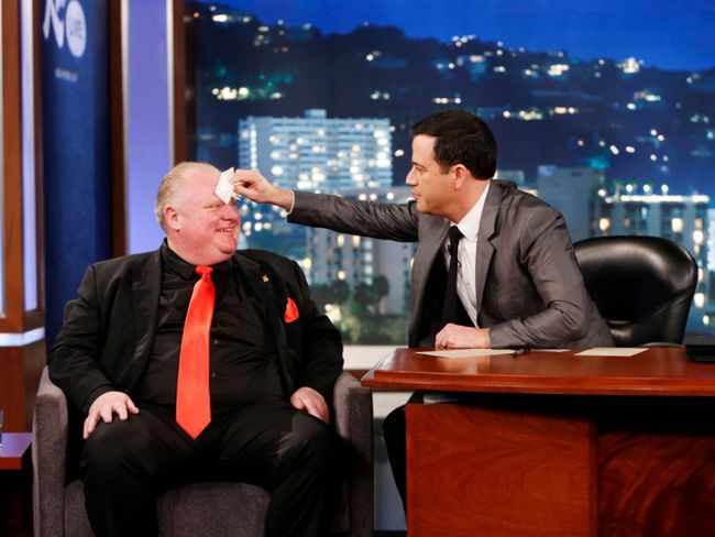 Jimmy Kimmel/Rob Ford