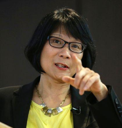 Olivia Chow speaks at York University on Thursday March 6, 2014. (Craig Robertson/Toronto Sun files)