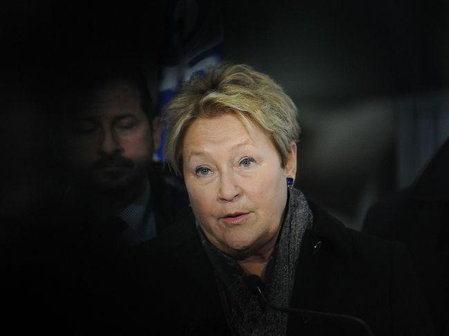Parti Quebecois leader Pauline Marois. (ANNIE T ROUSSEL/QMI AGENCY)