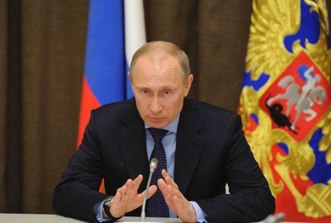 Russian President Vladimir Putin. REUTERS/QMI Agency