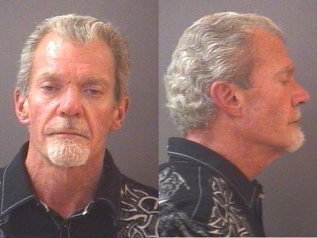 Jim Irsay mugshot. (Carmel Police Department)
