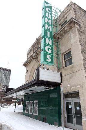 The Burton Cummings Theatre in Winnipeg, Man. is shown Monday March 17, 2014. (Brian Donogh/Winnipeg Sun/QMI Agency)