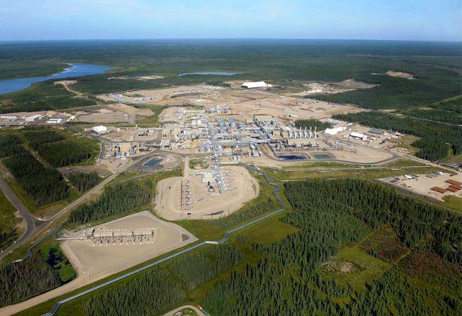 The Cenovus Energy's Foster Creek plant, about 330 kilometres northeast of Edmonton, Alberta. (Cenovus Energy)