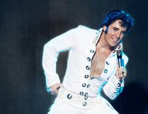 Elvis impersonator Pete Paquette
