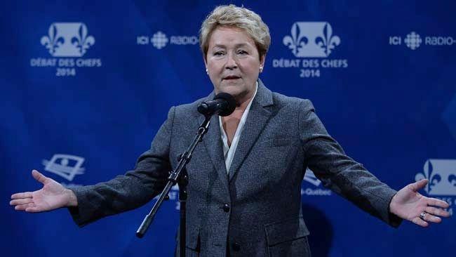 Parti Quebecois Leader Pauline Marois. (DIDIER DEBUSSCHERE/QMI Agency)