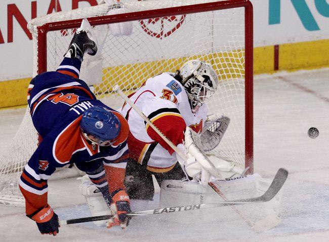 Oilers versus Calgary