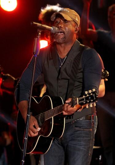 Country star Darius Rucker will perform at the 2014 Ottawa Bluesfest on Friday, July 4 at 6:45 p.m. Judy Eddy/WENN.com