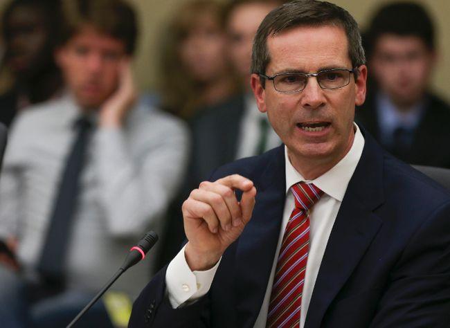 Former premier Dalton McGuinty. (Dave Thomas/Toronto Sun)