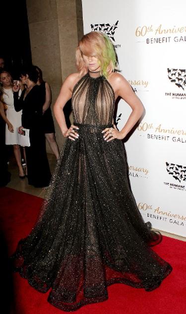 Kesha at Humane Society of the United States Gala 2014 in Los Angeles, March 30, 2014. Apega/WENN.com