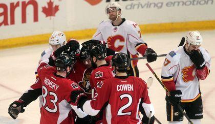 Ottawa Senators Calgary Flames