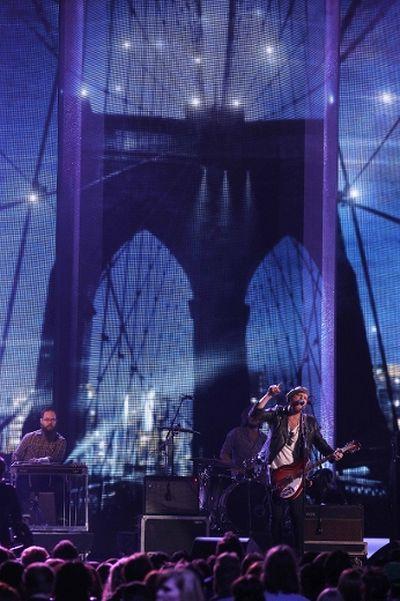 Matt Mays performs during the 2014 Juno Awards at MTS Centre in Winnipeg, Man., on Sun., March 30, 2014. Kevin King/Winnipeg Sun/QMI Agency