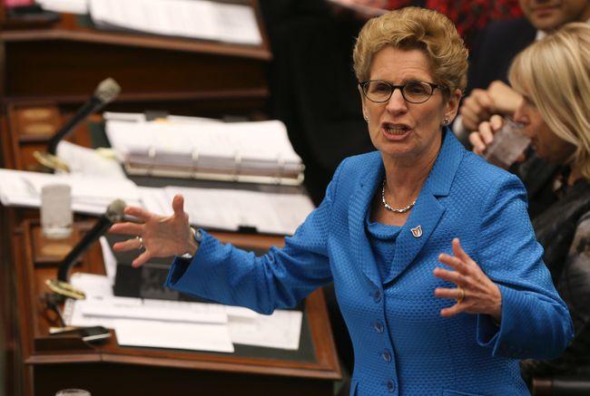 Premier Kathleen Wynne at Queen's Park in Toronto April 1, 2014. (Dave Thomas/Toronto Sun)