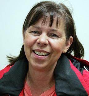Angela Schornstein, a proud Paralympian mother. - Gord Montgomery, Reporter/Examiner