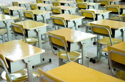 Empty classroom, school