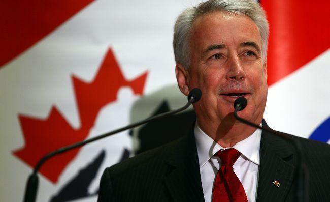Hockey Canada's outgoing boss Bob Nicholson. (DAVE ABEL/QMI Agency)