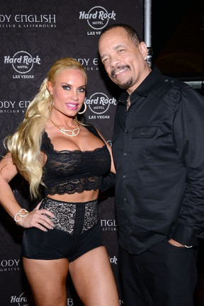 Ice-T with Coco Austin. (WENN.COM file photo)