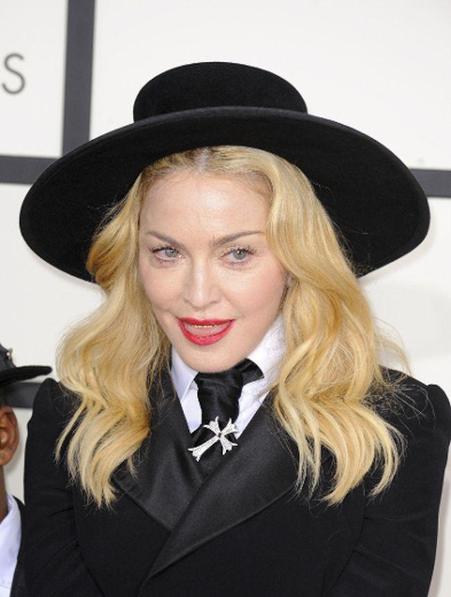 Madonna at the Grammy Awards (Apega/WENN.com)