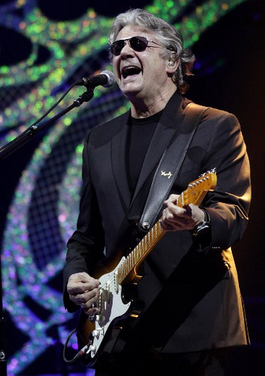 Steve Miller performs at Rexall Place, in Edmonton Alta., on Monday April 7, 2014. David Bloom/Edmonton Sun/QMI Agency