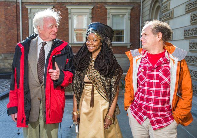 Mike McAteer, left, Simone Topey and Dror Bar-Natan. (Toronto Sun files)