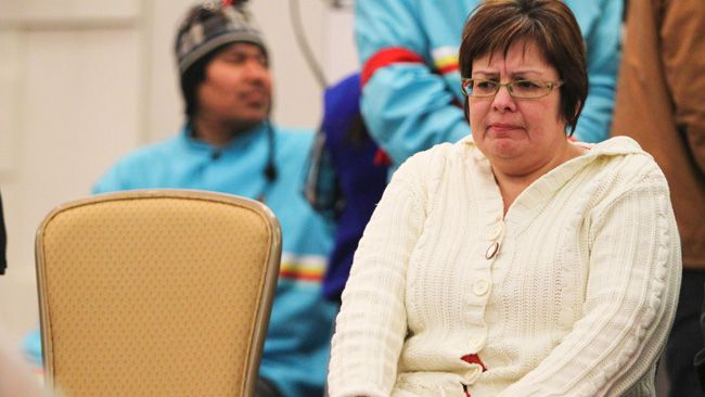 Attawapiskat Chief Theresa Spence. (Andre Forget/QMI Agency file photo)