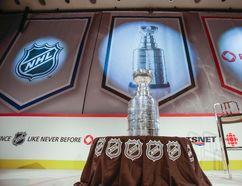 The Stanley Cup on display earlier this season in downtown Toronto. (Ernest Doroszuk/Toronto Sun/QMI Agency)
