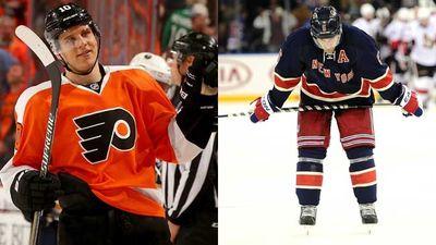 <p>Prediction: Philadelphia Flyers beat the New York Rangers</p> <p>(Photos: AFP)</p>