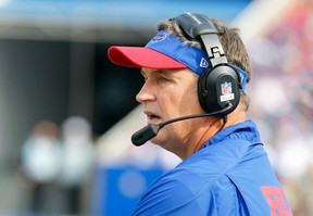 Buffalo Bills head coach Doug Marrone announced Tuesday he had a cancerous mole removed. (USA Today)