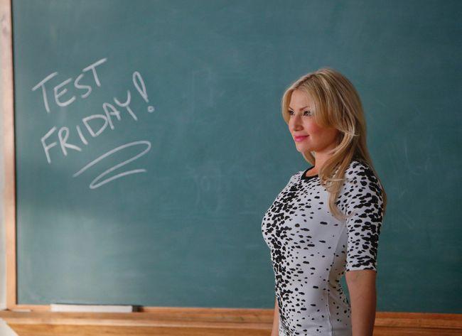 Ari Graynor as Meredith Davis in the new CBS TV series, Bad Teacher. (Handout Photo)