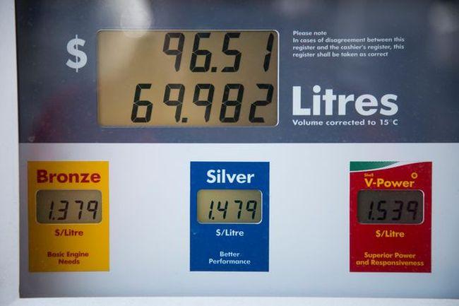 Regular gas is selling for $1.379  in London, Ont. on Wednesday April 23, 2014.DEREK RUTTAN/The London Free Press/QMI Agency