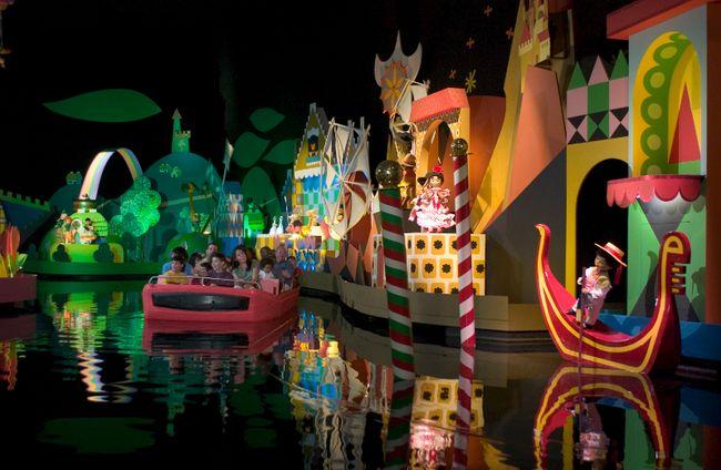 It's A Small World ride at Disney World, Florida. (Courtesy Walt Disney World/Gene Duncan)