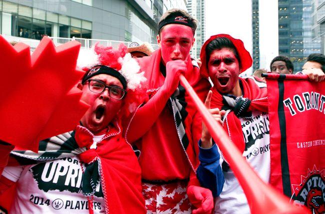Raptors fans April 29
