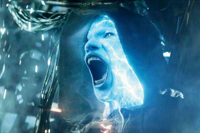 """Jamie Foxx as """"Electro."""""""